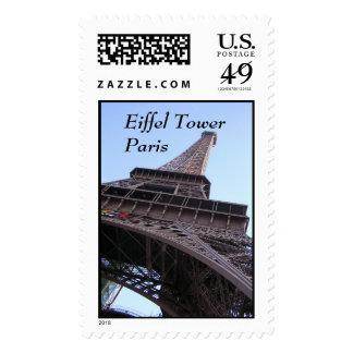 Eiffel Tower Paris Stamp