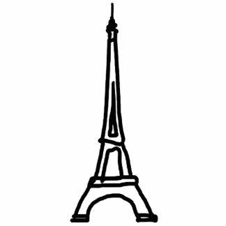 eiffel tower paris statuette