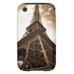 Eiffel tower Paris Tough iPhone 3 Cover