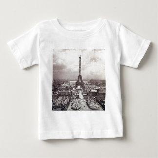 Eiffel Tower Paris Vintage Exposition Universelle Baby T-Shirt