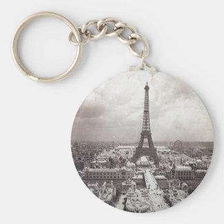 Eiffel Tower Paris Vintage Exposition Universelle Keychain