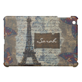Eiffel tower Parisian chic Personalized Ipad case