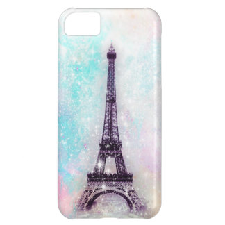 Eiffel Tower Pastel Cover For iPhone 5C