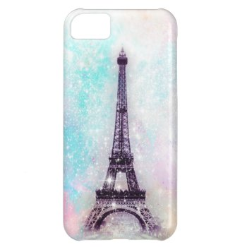 Eiffel Tower Pastel Cover For Iphone 5c by OrganicSaturation at Zazzle