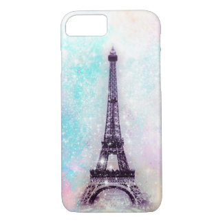 Eiffel Tower Pastel iPhone 7 Case