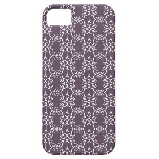 Eiffel Tower Pattern Iphone 5 Case
