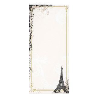 Eiffel Tower Photo Card Rack Card