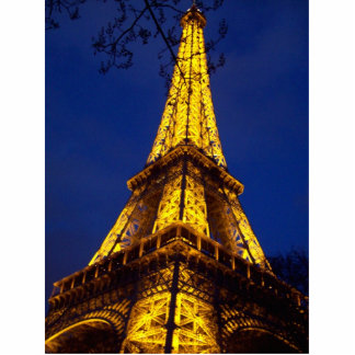 Eiffel Tower Photo Sculpture