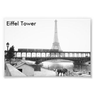 Eiffel Tower Photo Print