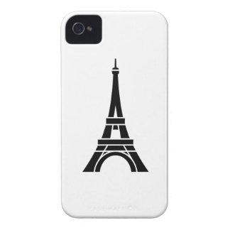 Eiffel Tower Pictogram iPhone 4 Case
