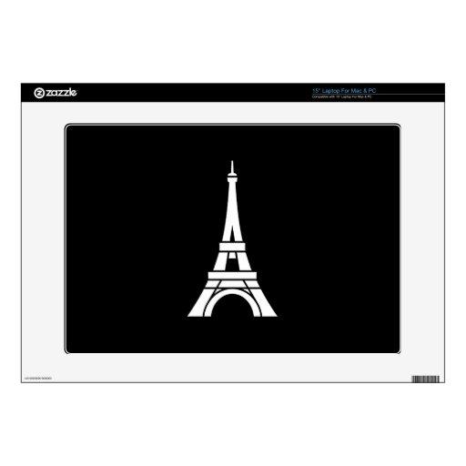 Eiffel Tower Pictogram Latop Skin Skin For Laptop