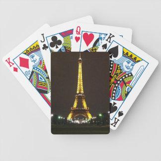 Eiffel Tower Poker Cards