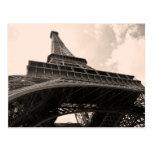 Eiffel Tower Post Card