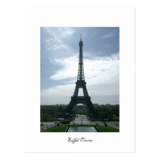 Eiffel Tower Post Postcard