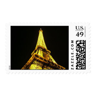 Eiffel Tower Postage Stamp
