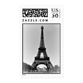 Eiffel Tower Postage Stamps