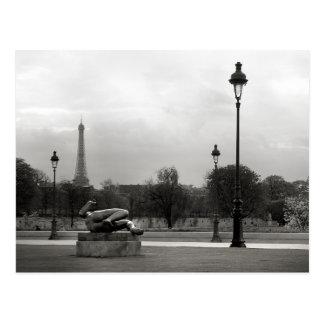 Eiffel Tower Postcard Post Cards