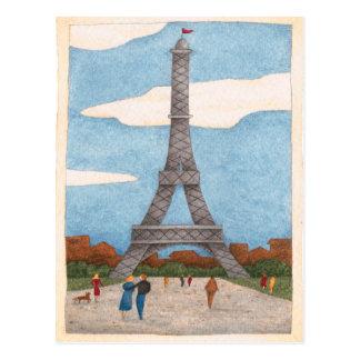 Eiffel Tower - Postcard