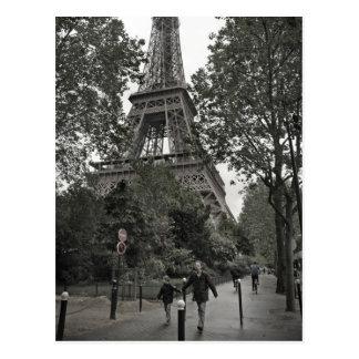 Eiffel Tower Postcard Postcard