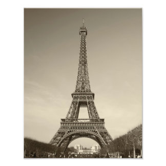Eiffel Tower Print Photographic Print