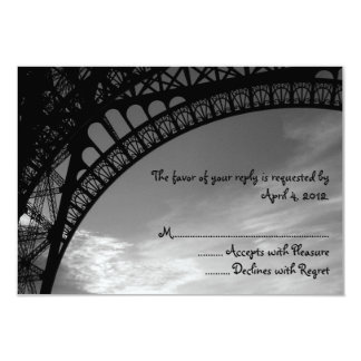 Eiffel Tower Reply Cards