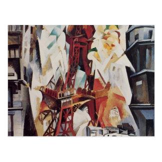 Eiffel Tower - Robert Delaunay Postcard