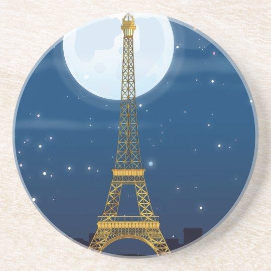 Eiffel Tower Sandstone Coaster