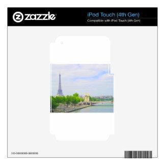 Eiffel Tower & Seine, Paris France iPod Touch 4G Skin