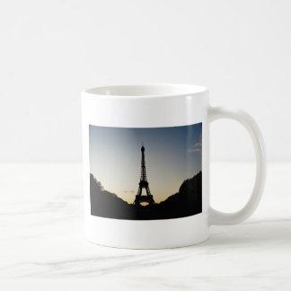 Eiffel Tower Silhouette Mugs