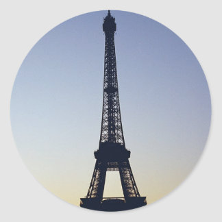 Eiffel Tower Silhouette Stickers