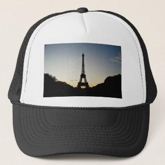 Eiffel Tower Silhouette Trucker Hat