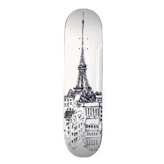 Eiffel Tower Skate Board Deck