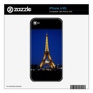 Eiffel Tower Decals For The iPhone 4S