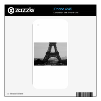 Eiffel Tower Skins For iPhone 4S