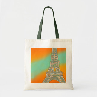 Eiffel Tower Small Tote Bag