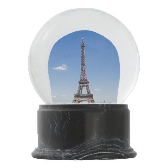 Light Tower Globes: Eiffel Tower Snow Globe