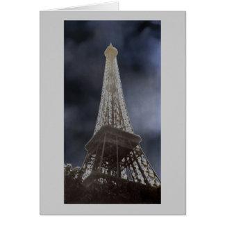 Eiffel Tower Solar Card