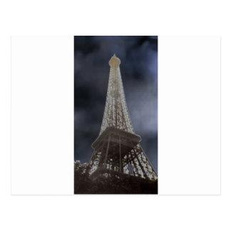 Eiffel Tower Solar Postcard