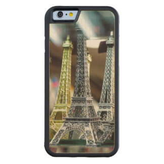 Eiffel Tower Souvenirs Carved® Maple iPhone 6 Bumper