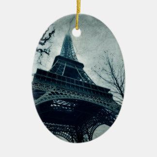 eiffel tower souvenirs ceramic ornament