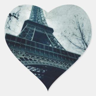 eiffel tower souvenirs heart sticker