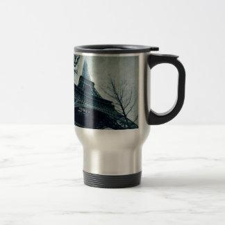eiffel tower souvenirs stainless steel travel mug