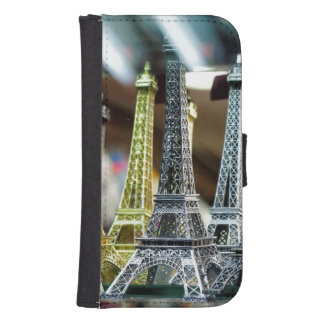 Eiffel Tower Souvenirs Galaxy S4 Wallet Case