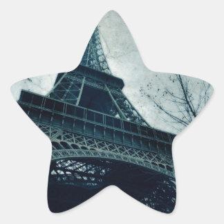 eiffel tower souvenirs star sticker