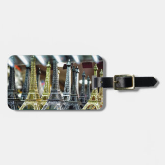 Eiffel Tower Souvenirs Tag For Luggage