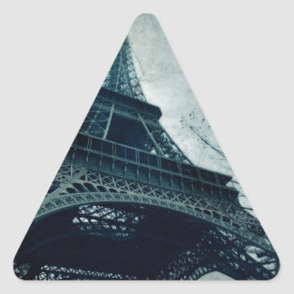 eiffel tower souvenirs triangle sticker