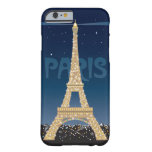 Eiffel Tower Sparkle iPhone 6/6S Barely There Case Barely There iPhone 6 Case