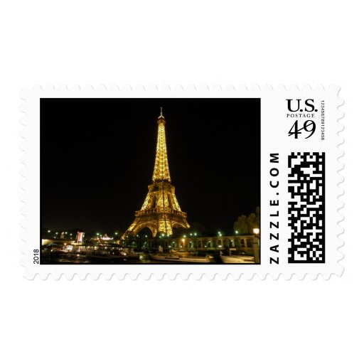 eiffel tower stamps