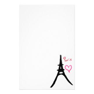 Eiffel Tower Stationary Stationery
