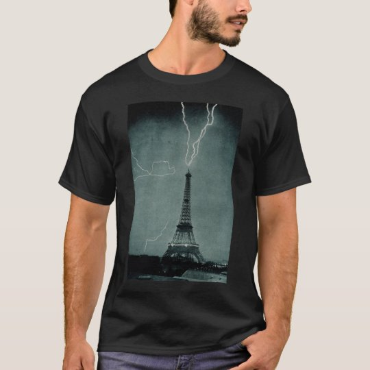 Eiffel Tower Struck T-Shirt